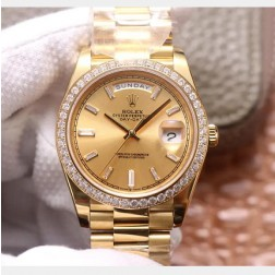 40MM Swiss Made Automatic New Version Rolex Day-Date Watch SR0077