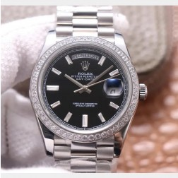 40MM Swiss Made Automatic New Version Rolex Day-Date Watch SR0079