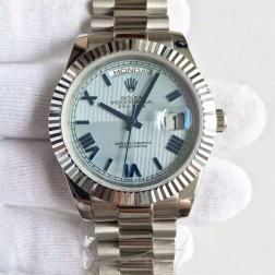 New Best Swiss Made Rolex Day-Date II 228239 Blue Quadrant Dial 1:1 Mirror Quality SRDD120