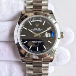 New Best Swiss Made Rolex Day-Date II 228239 Black HoneyComb Dial 1:1 Mirror Quality SRDD124