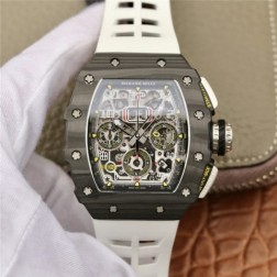 45MM Swiss Made Automatic New Richard Mille RM11-03 Best Replica Watch SRM0001