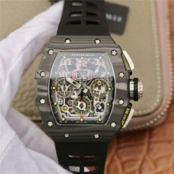 45MM Swiss Made Automatic New Richard Mille RM11-03 Best Replica Watch SRM0004