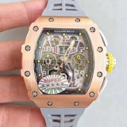 45MM Swiss Made Automatic New Richard Mille RM11-03 Best Replica Watch SRM0005