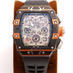 45MM Swiss Made Automatic New Richard Mille RM11-03 Best Replica Watch SRM0006