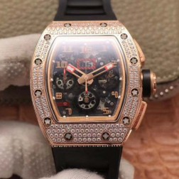 40MM Swiss Made Automatic New Richard Mille RM011 Best Replica Watch SRM0007