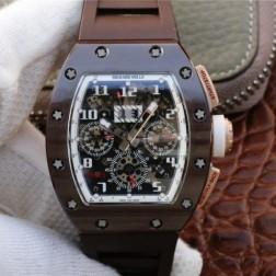 40MM Swiss Made Automatic New Richard Mille RM011 Best Replica Watch SRM0008