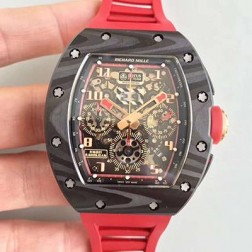 40MM Swiss Made Automatic New Richard Mille RM011 Best Replica Watch SRM0009