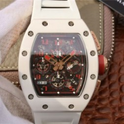 40MM Swiss Made Automatic New Richard Mille RM011 Best Replica Watch SRM0011