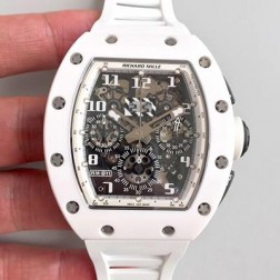 40MM Swiss Made Automatic New Richard Mille RM011 Best Replica Watch SRM0012