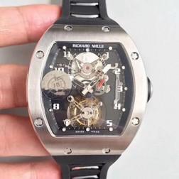 38.3MM Swiss Made New Richard Mille RM001 Best Replica Watch SRM0013