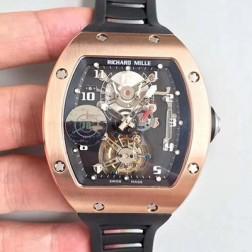 38.3MM Swiss Made New Richard Mille RM001 Best Replica Watch SRM0014