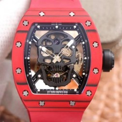 44.3MM Swiss Made Automatic New Richard Mille RM052 Best Replica Watch SRM0026