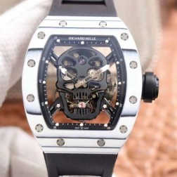 44.3MM Swiss Made Automatic New Richard Mille RM052 Best Replica Watch SRM0027