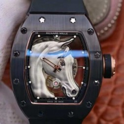 43MM Swiss Made Automatic New Richard Mille RM52-01 Best Replica Watch SRM0029