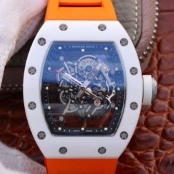 43MM Swiss Made Automatic New Richard Mille RM055 Best Replica Watch SRM0033