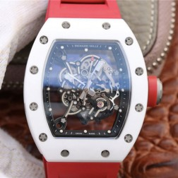 43MM Swiss Made Automatic New Richard Mille RM055 Best Replica Watch SRM0034