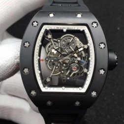 43MM Swiss Made Automatic New Richard Mille RM055 Best Replica Watch SRM0037