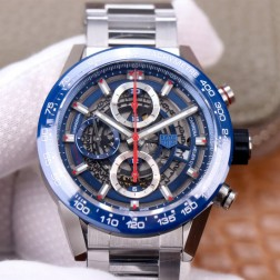 45MM Swiss Made Automatic New Version TAG Heuer Carrera Best Clone Watch STH0008