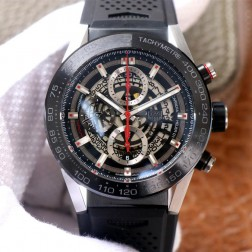 45MM Swiss Made Automatic New Version TAG Heuer Carrera Best Clone Watch STH0009
