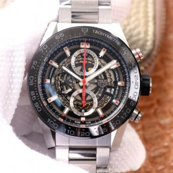 45MM Swiss Made Automatic New Version TAG Heuer Carrera Best Clone Watch STH0012