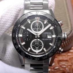 43MM Swiss Made Automatic New Version TAG Heuer Carrera Best Clone Watch STH0015