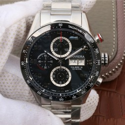 43MM Swiss Made Automatic New Version TAG Heuer Carrera Best Clone Watch STH0018