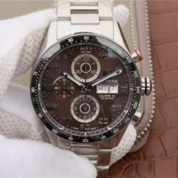 43MM Swiss Made Automatic New Version TAG Heuer Carrera Best Clone Watch STH0019