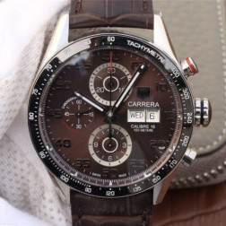 43MM Swiss Made Automatic New Version TAG Heuer Carrera Best Clone Watch STH0020