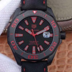 43MM Swiss Made Automatic New Version TAG Heuer AQUARACER Best Clone Watch STH0035