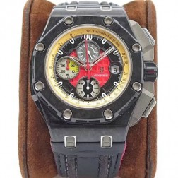 Audemars Piguet Royal Oak Offshore Grand Prix Carbon Case Red Dial Swiss Made 1:1 Mirror Replica SAPO006