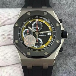 Replica Audemars Piguet Royal Oak Offshore Pride of Mexico Chronograph Watch White Dial SAPO018