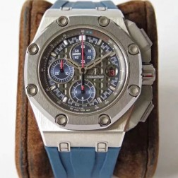 Audemars Piguet Royal Oak Offshore Michael Schumacher Blue Dial Swiss Made 1:1 Mirror Replica  SAPO025