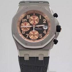 Replica Audemars Piguet Royal Oak Offshore Chronograph Watch Black Dial Swiss Movement SAPO048