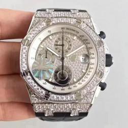 Audemars Piguet Royal Oak Offshore Diamonds Case and Dial Swiss Made 1:1 Mirror Replica SAPO058