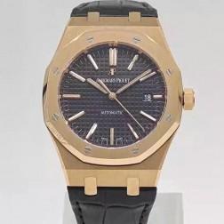 Replica Audemars Piguet Royal Oak Classic Men Watch Blue Dial Stainless Steel Case SAPR003