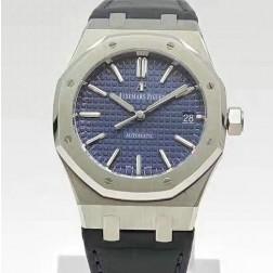 2015 New Style Replica Audemars Piguet Royal Oak 41mm Blue Dial with Genuine Swiss Movement SAPR105