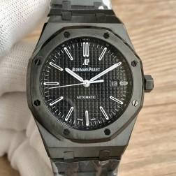 Audemars Piguet Royal Oak 15400 Dark Knight PVD Black Case Swiss Made 1:1 Mirror Replica SAPR114