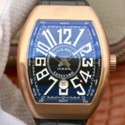 Best 1:1 Mirror Replica Franck Muller Vanguard Yachting Watch 18k Rose Gold Case Swiss Made SFR024