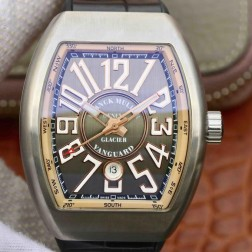 Best 1:1 Mirror Replica Franck Muller Vanguard Yachting Watch Grey Dial Swiss Made SFR027