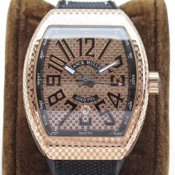 1:1 Mirror Top Replica Franck Muller Vanguard Gold PXL Watch Rose Gold Case Swiss Made SFR046