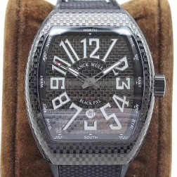 1:1 Mirror Top Replica Franck Muller Vanguard BLACK PXL Watch PVD Case Swiss Made SFR047