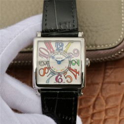 1:1 Mirror Replica Ladies Franck Muller Master Square Watch Colorful Dial Swiss Made SFR069