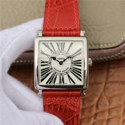 1:1 Mirror Replica Ladies Franck Muller Master Square Watch White Dial with Roman Swiss Made SFR073