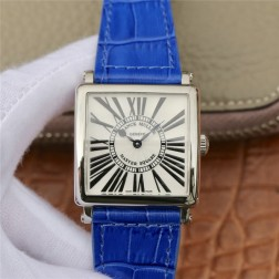 1:1 Mirror Replica Ladies Franck Muller Master Square Watch White Dial with Roman Swiss Made SFR075