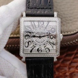 1:1 Mirror Replica Ladies Franck Muller Master Square Diamond Case and Dial Swiss Made SFR077