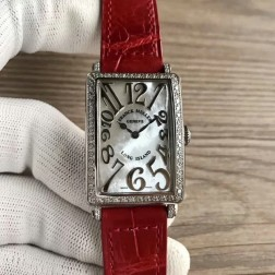 Replica Ladies Franck Muller LONG ISLAND Mother of Pearl Dial Swiss Made 1:1 Mirror SFR085