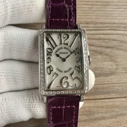 Replica Ladies Franck Muller LONG ISLAND Mother of Pearl Dial Swiss Made 1:1 Mirror SFR087