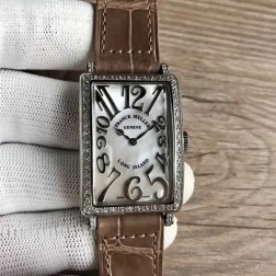 Replica Ladies Franck Muller LONG ISLAND Mother of Pearl Dial Swiss Made 1:1 Mirror SFR089