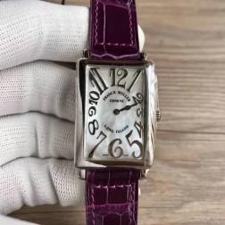 Replica Ladies Franck Muller LONG ISLAND Mother of Pearl Dial Swiss Made 1:1 Mirror SFR095