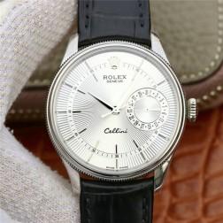 Best Swiss Made Replica Rolex Cellini 50519 SS Case White Dial 1:1 Mirror Quality SRC111